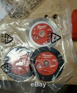Milwaukee 2522-20 M12 Fuel 3 Cut Off Tool Grinder, 3 discs&dust shoe FREE SHIP