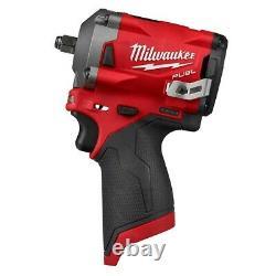 Milwaukee 2554-20 M12 FUEL 3/8 Stubby Impact Wrench