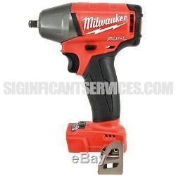 Milwaukee 2754-20 M18 FUEL Li-Ion 18V 3/8 Compact Impact Wrench FR 5.0 Ah Kit