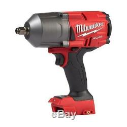 Milwaukee 2767-20 M18 FUEL High Torque ½ Impact Wrench with Friction Ring Tool