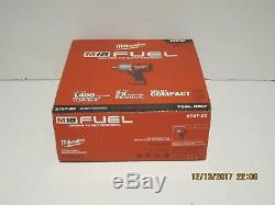 Milwaukee 2767-20 M18 FUEL ½ Impact Wrench WithFriction Ring 1400 lbs Torque NISB