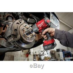 Milwaukee 2767-20 M18 Fuel High Torque 1/2 Impact Wrench COMBO KIT New USA