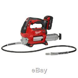 Milwaukee 2767-22GG 18-Volt 1/2-Inch Friction Ring Impact Wrench with Grease Gun