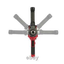 Milwaukee 2810-22 M18 Fuel Mud Mixer Kit 180-degree Handle (2) 5.0 Battery New
