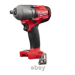 Milwaukee 2861-20 M18 1/2 Mid-Torque Impact Wrench withFriction Ring (New)