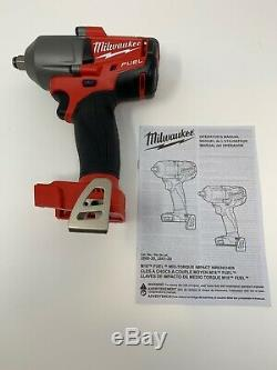 Milwaukee 2861-20 M18 FUEL 1/2 Mid-Torque Impact Wrench. No Battery
