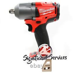 Milwaukee 2861-20 M18 FUEL Mid-Torque 1/2 Friction Ring Impact Wrench Tool Kit