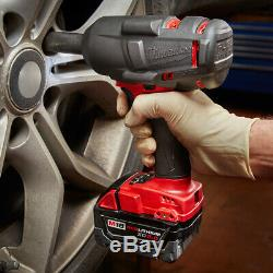 Milwaukee 2861-22 M18 FUEL Mid-Torque 1/2 Friction Ring Impact Wrench Tool Kit