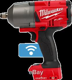 Milwaukee 2863-20 M18 FUEL with ONE-KEY High Torque Impact Wrench 1/2 Friction