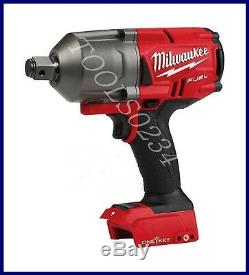 Milwaukee 2864-20 M18 FUEL 3/4 High Torque Impact Wrench withONE KEY TOOL ONLY