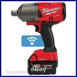 Milwaukee 2864-22 M18 FUEL withONE-KEY High Torque Impact Wrench 3/4 Ring Kit