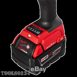 Milwaukee 2865-22 M18 FUEL 7/16 Hex High-Torque Impact Wrench withONE KEY Kit
