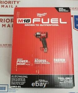 Milwaukee 2962-20 M18 FUEL 1/2 Mid-Torque Impact Wrench (OPENBOX)