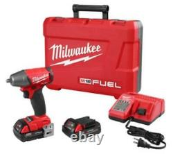 Milwaukee Electric Tools 2754-22CT Milwaukee M18 Fuel 3/8 In. Compact Impact