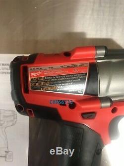 Milwaukee Fuel M18 2861-20 18V Li-ion 1/2 MidTorque Brushless Impact Wrench 5.0