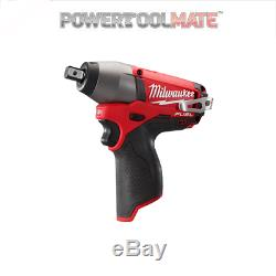 Milwaukee M12CIW12-0 M12 Fuel Compact Impact Wrench 1/2 Inch Body Only