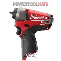 Milwaukee M12CIW14-0 12V Fuel Compact 1/4 Impact Wrench (Body Only)