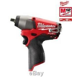 Milwaukee M12CIW38-0 12v Fuel Brushless M12 Impact Wrench 3/8 Bare Unit