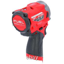 Milwaukee M12FIW38 12V Li-ion FUEL 3/8 Impact Wrench With 1 x 2.0Ah Battery