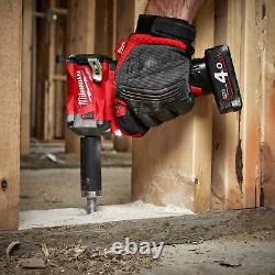 Milwaukee M12FIW38-622X 339Nm Fuel 3/8 Impact Wrench, 2 x M12 Batteries and Cha