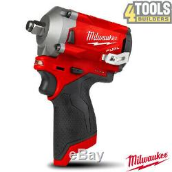 Milwaukee M12FIWF12-0 M12 FUEL 1/2 Stubby Impact Wrench Friction Ring Body