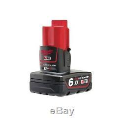 Milwaukee M12FIWF12-622X 300Nm Fuel 1/2 Impact Wrench Kit