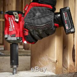 Milwaukee M12 2554-20 12-Volt FUEL 3/8-Inch Stubby Impact Wrench Bare Tool