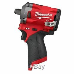 Milwaukee M12 FUEL 1/2 Stubby Impact Wrench (Tool-Only) 2555-20
