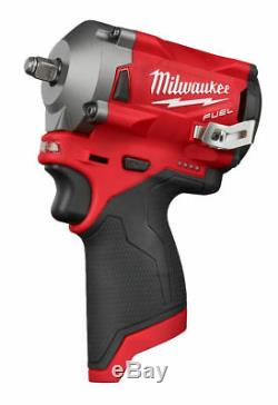 Milwaukee M12fiw38-0 Fuel Impact Wrench 3/8 Naked 4933464612