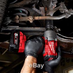 Milwaukee M18FHIWF12-502X Gen2 18V 1/2 1898Nm Impact Wrench with 2x 5Ah Batteri