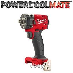 Milwaukee M18FIW2F12-0X Fuel 1/2 Compact Impact Wrench with Friction Ring Bare