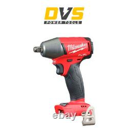Milwaukee M18FIWF12-0 M18 FUEL 1/2 Impact Wrench with Friction Ring Body Only
