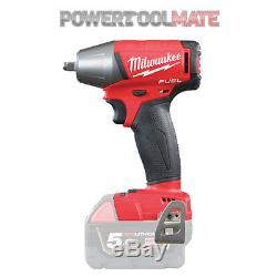 Milwaukee M18FIWF38-0 Fuel2 18v 3/8in Friction Ring Impact Wrench Body Only