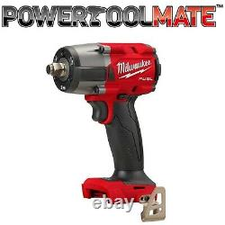Milwaukee M18FMTIW2F12-0 Gen2 Mid-Torque 1/2'' Friction Ring Impact Wrench Bare