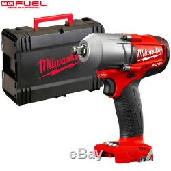 Milwaukee M18FMTIWF12-0 18V FUEL Mid-Torque 1/2 Impact Wrench Body With Case