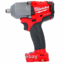 Milwaukee M18FMTIWF12-502X 18V Impact Wrench + 2 x 5Ah Batteries Charger & Case