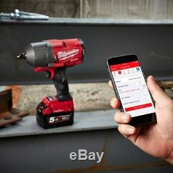 Milwaukee M18ONEFHIWF12-0 1/2 1898Nm FUEL One Key Impact Wrench with Friction R