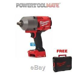 Milwaukee M18ONEFHIWF12-0 FUEL One Key 1/2 Impact Wrench Bare FREE CASE