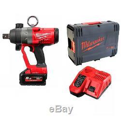 Milwaukee M18ONEFHIWF1-801X M18 18V ONE-KEY FUEL High Torque 1 Impact Wrench