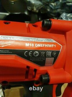 Milwaukee M18ONEFHIWF1-802X 18v Inch Drive Impact Wrench 2 x 8.0ah Battery KIT