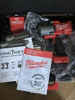 Milwaukee M18ONEFHIWF34-0X 18v M18 3/4in One-Key Fuel HighTorque Impact Wrench
