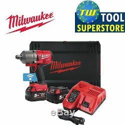 Milwaukee M18ONEFHIWF34-502X 18V FUEL One Key 3/4 Impact Wrench Kit 2x 5Ah