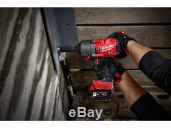 Milwaukee M18ONEFHIWF34-502X 18v 2x5.0Ah Li-ion Fuel 3/4in Friction Ring Impact