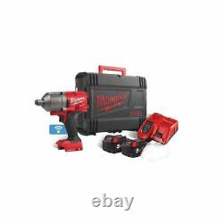 Milwaukee M18ONEFHIWF34-502X 18v 3/4 Impact Wrench 2 x 5.0ah Batteries + Charger