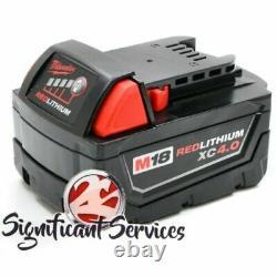 Milwaukee M18 2663-20 Cordless 1/2 High Torque 4.0 Ah Battery Impact Wrench Kit
