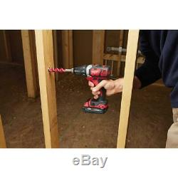 Milwaukee Mechanics Cordless Combo Tool Kit Drill Impact Wrench Sawzall Grinder