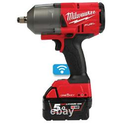 Milwaukee ONEFHIWF12-502X 18v FUEL 1/2in Impact Wrench 5.0Ah Kit