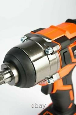 Mondis 20V 1/2 Cordless Impact Wrench Lithium Snap On style Rattle Gun