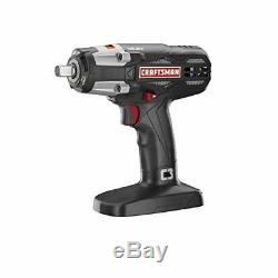 NEW CRAFTSMAN C3 19.2v 1/2 HEAVY DUTY CORDLESS IMPACT WRENCH With LED 315. ID2030