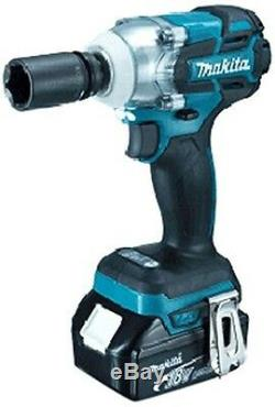 NEW Makita 18V TW281DZ Rechargeable Impact Wrench Driver Japan Blue Body Only